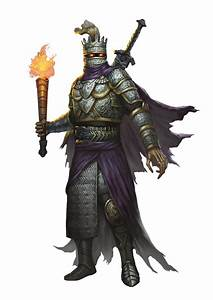 Death Knight (from the fifth edition D&D Monster Manual ...