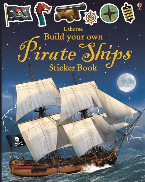 """build Your Own Pirate Ships Sticker Book"" At Usborne"