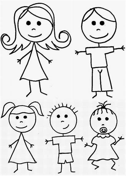 Drawings Easy Stick Drawing Figure Figures Basic