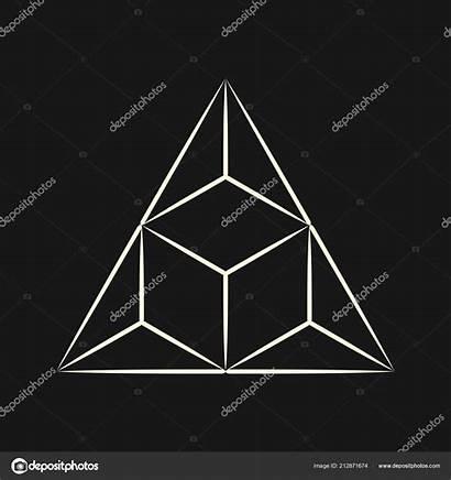 Geometry Sacred Triangle Symbol Graphic Linear Secret