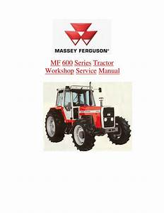 Massey Ferguson Mf 675 Tractor Service Repair Manual