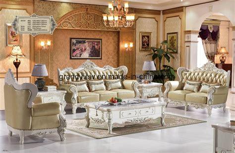china home furniture dubai royal leather tufted sofa