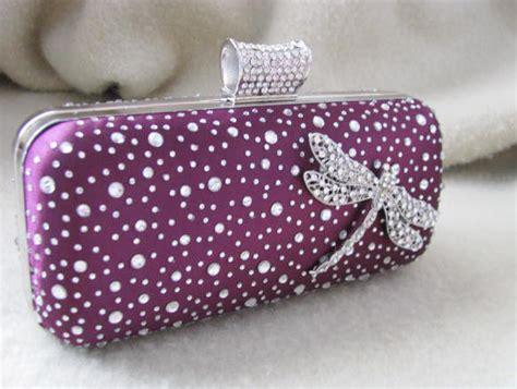 Purple Bags And Purses, Bridal Clutches, Bride Bridesmaid