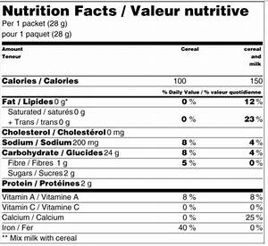 nutrition facts generator free nutrition ftempo With free nutrition label maker