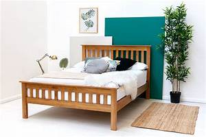 Chelford Solid Farmhouse Oak Wooden Bed Frame