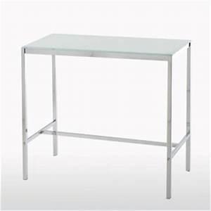 Table Haute En Verre : table haute janik acheter ce produit au meilleur prix ~ Teatrodelosmanantiales.com Idées de Décoration