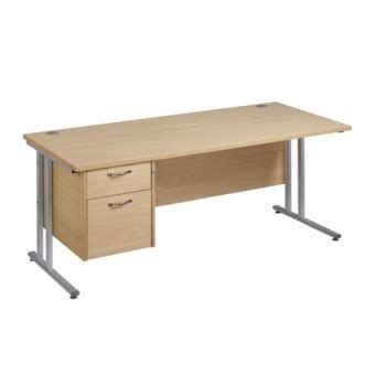 white desk with silver legs office desk with drawers with silver or white legs