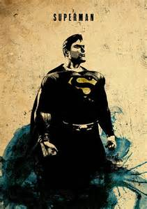 Superman Minimalist Superhero