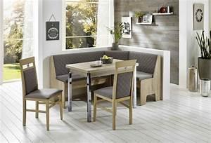 Eckbank Mit Tisch Und Stühle : truhen eckbankgruppe eiche sonoma s gerau dekor eckbank 2 st hle und tisch r ckenpolsterung ~ Indierocktalk.com Haus und Dekorationen