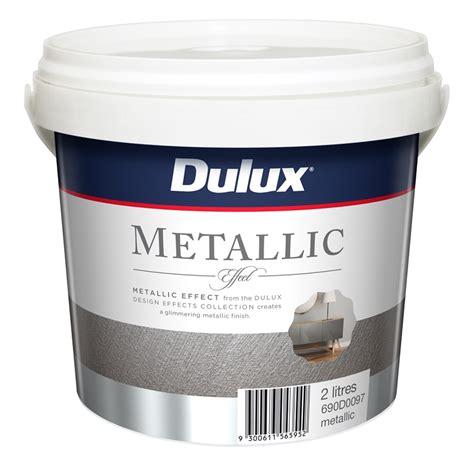 Wandfarbe Metallic Effekt by Dulux 2l Design Metallic Effect Paint Bunnings Warehouse