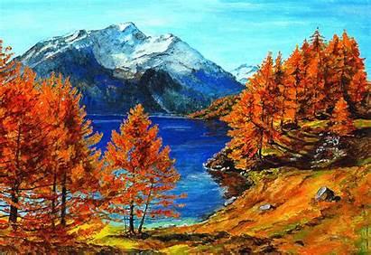 Fall Autumn Scenery Mountain Mountains Desktop Resolution