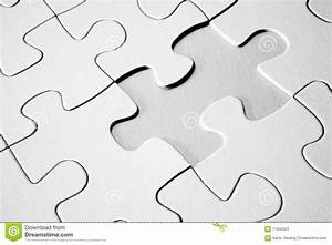 Jigsaw Puzzle With Missing Piece Stock Image - Image: 11042501