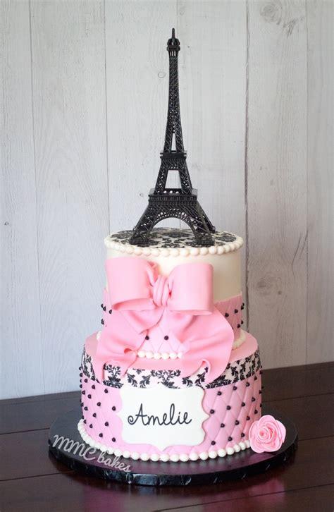 paris st birthday cake cupcakes mmc bakes