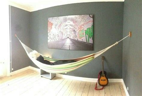 How To Hang A Hammock On An Apartment Balcony by Indoor Hammock Wall Hanger Diy Wall Mount