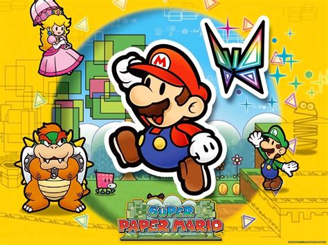 Super Paper Mario Super Mario Bros Wallpaper 5431979