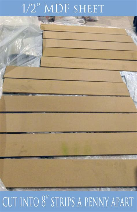 Mdf Shiplap Boards by Diy Shiplap Projects The Budget Decorator