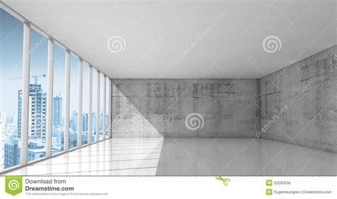 abstract architecture empty interior  concrete walls
