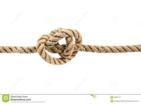 Bilder Befestigung Seil by Seil Mit Gebundenem Knoten Stockbild Bild
