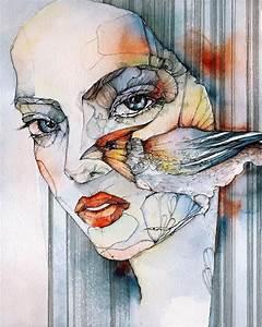 Artist, Juli, Jah, U0026, 39, S, Creates, Beautiful, Watercolor, And, Ink