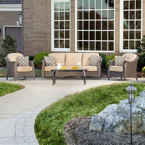 shop hanover outdoor furniture gramercy 4 wicker