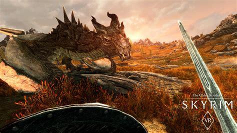 Become A Dragonborn Skyrim Vr Coming To Pc Via Steamvr