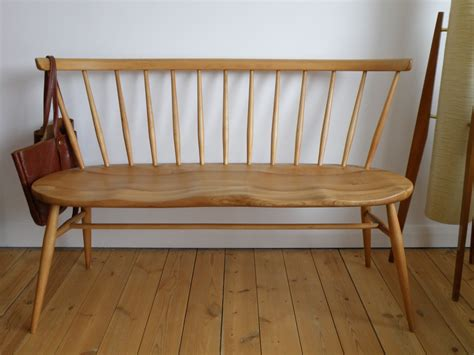 Ercol Loveseat by Antikmodern The Shop Ercol Seat Bench