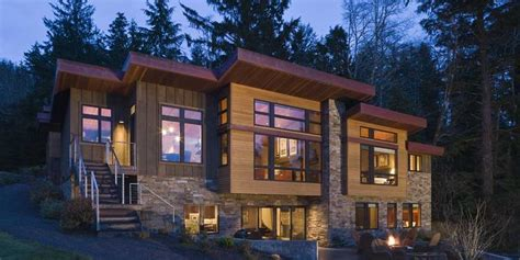 Modern Lake House Designs Waterfront Lake House with