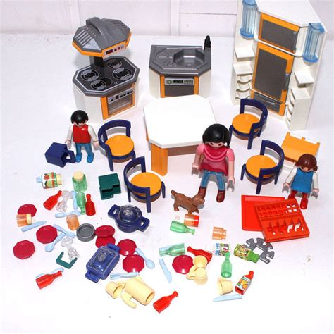 playmobil cuisine beautiful playmobil maison moderne cuisine images