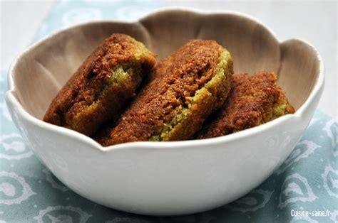recette bio végétalienne falafels pois chiche coriandre