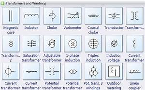 Winding Symbol Drawing Transformer Clipart Png And