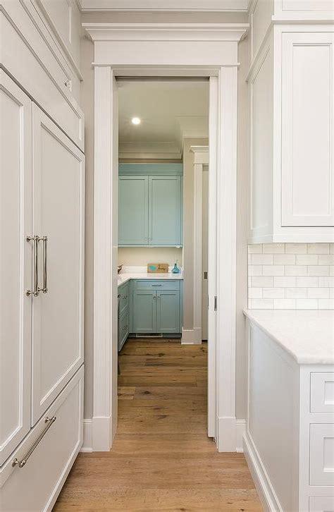 blue kitchen cabinets contemporary kitchen rue magazine