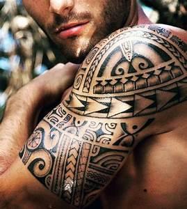 Maorie Tattoo Oberarm : 100 maori tattoo designs for men new zealand tribal ink ideas ~ Frokenaadalensverden.com Haus und Dekorationen