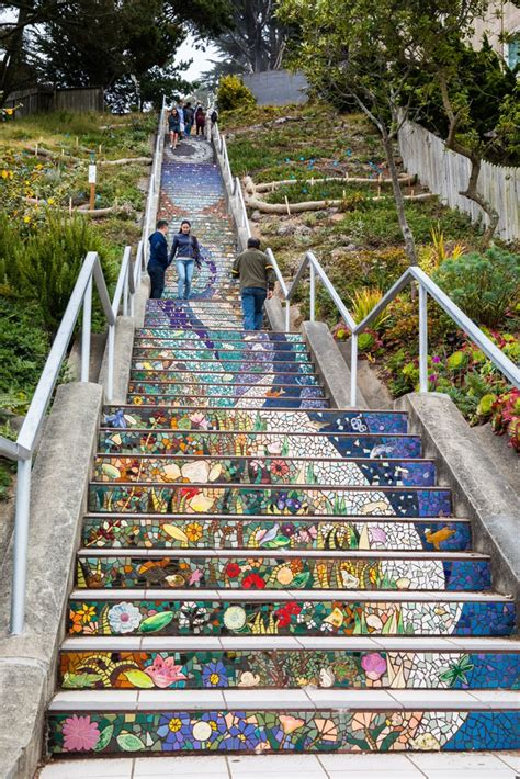 16th Avenue Tiled Steps Parking by The Big List Of Things To Do In San Francisco Earth Trekkers
