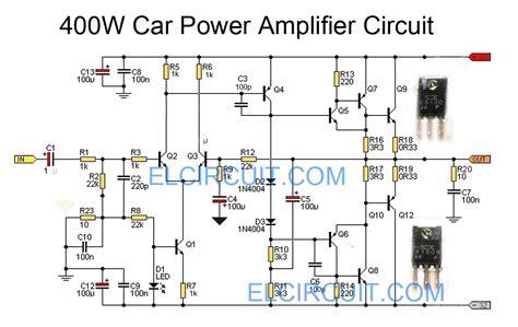 car power lifier circuit using c5100 a1908 elektronik audio lifier circuit ve