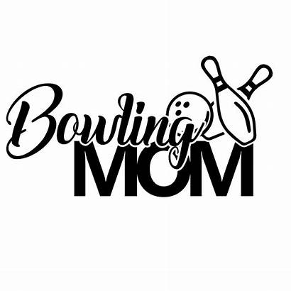 Bowling Decal Mom Decals Sports Vinyl Decalserpent