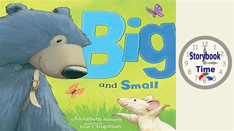 big  small kids books read aloud youtube