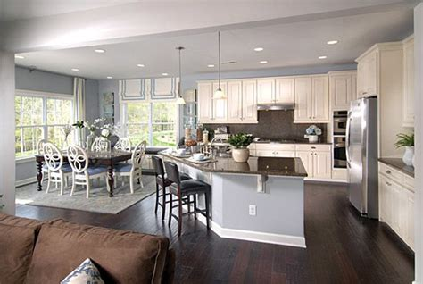 kitchen dining room living room open floor plan captivating oh to be able see what my children are doing