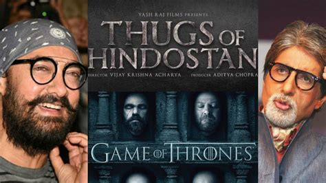 Thugs Of Hindostan Title Logo Copied From Game Of Thrones