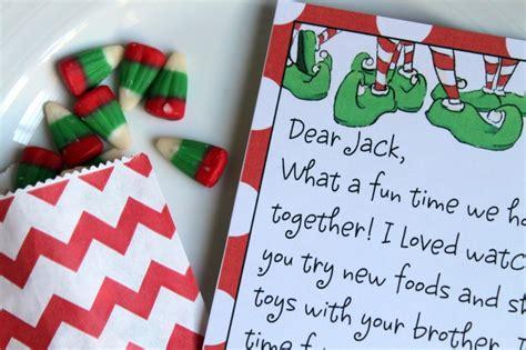 elf   shelf printable letter template  create