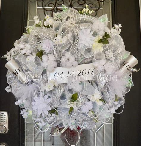 Wedding Wreath Wedding Decoration Bridal Shower Decoration