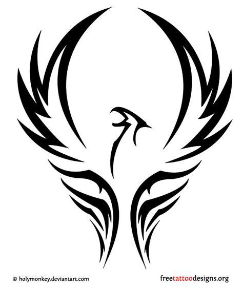 Permalink to Phoenix Tattoo Tribal
