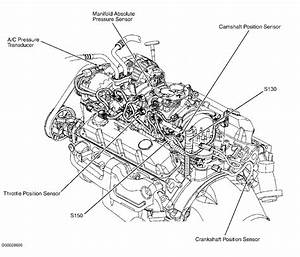 Where Is The Camshaft Positioning Sensor Located On A 2002