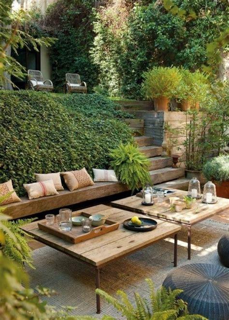 jardines rusticos  este verano woodies decora en