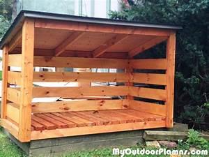 Backyard Wood Shed Plans MyOutdoorPlans Free
