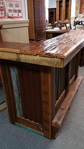 barnwood bar with tin pinhook ph 75 sold all wood With barnwood bars for sale