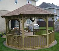 building a gazebo Build Your Own Wooden Gazebo - The Texas811.org Blog