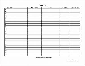 best photos of microsoft visitor log template visitor With editable sign in sheet template
