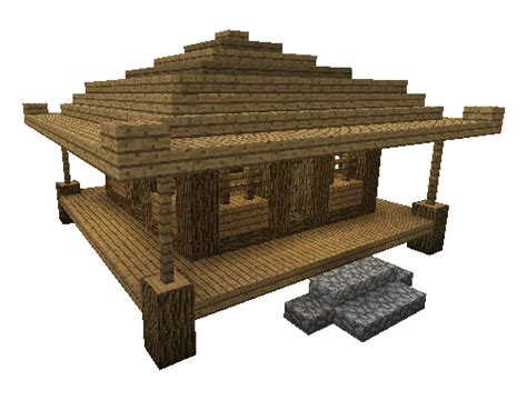 minecraft building tutorial small asian style farming house