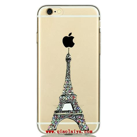 coque iphone   transparent  simple motif pas cher loisir