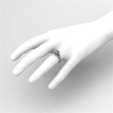 linked diamond engagement ring jewelry designs